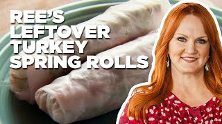 Ree's Leftover Turkey Spring Rolls | Food Network - FOODNETWORKTV