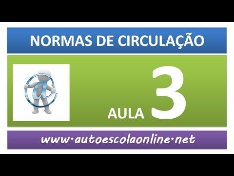AULA 47 NORMAS DE CIRCULAÇÃO - AULA LEGISLAÇÃO DE TRÂNSITO E PROVA SIMULADA DO DETRAN