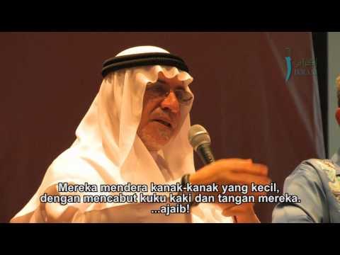 Punca kebangkitan rakyat Syria - Sheikh Khaled Hassan Hendawi