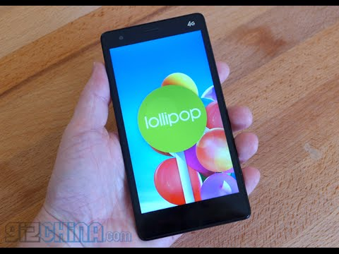 Mlais M52 running Android 5.0 Lollipop OTA