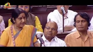 Sushma Swaraj Over US Presient Donald Trump Praising Modi and India | Mango News - MANGONEWS