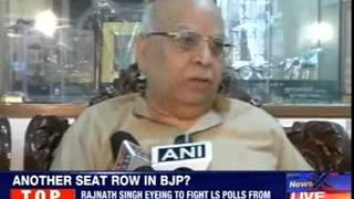 Lalji Tandon throws in a spanner for Lucknow seat - NEWSXLIVE