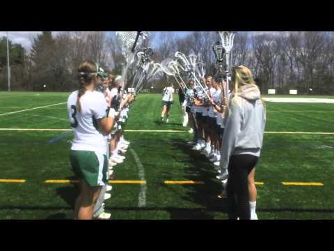Babson Women's Lacrosse vs. Emerson (4/19/14)