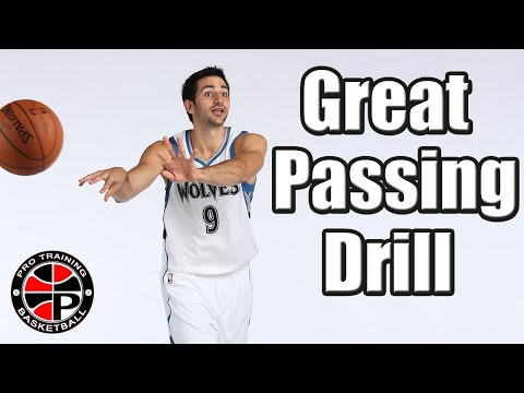 Become A Better Passer | Great Passing Drill | Pro Training Basketball