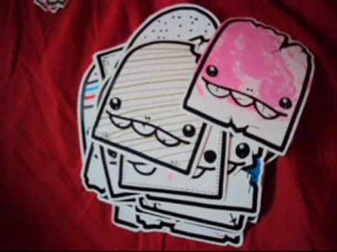 Graffiti Character stickers by Luigi