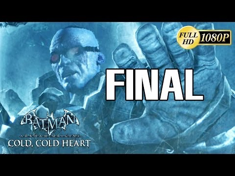 Batman Arkham Origins Cold, Cold Heart DLC Final Español Gameplay Walkthrough Batman vs Mr. Freeze