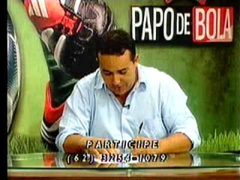 Programa Papo de Bola exibido dia 21 de fevereiro de 2013