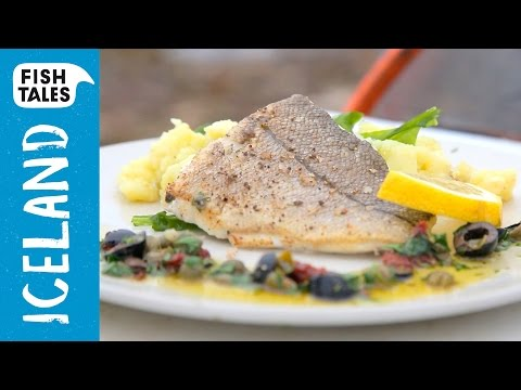 Pan fried HADDOCK with mashed potatoes & Sauce Provençale | Bart's Fish Tales