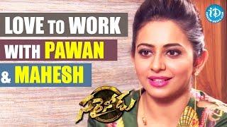 I Would Love to Work With Pawan Kalyan & Mahesh Babu - Rakul Preet    Talking Movies with iDream - IDREAMMOVIES
