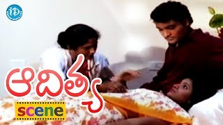 Aditya Movie Scenes - Krishna Worries About Shilpa || Swapna || Shasidhar - IDREAMMOVIES
