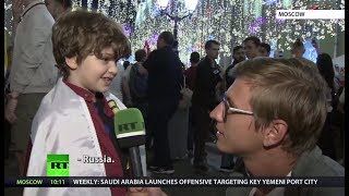 World Cup through the eyes of the youngest fans - RUSSIATODAY