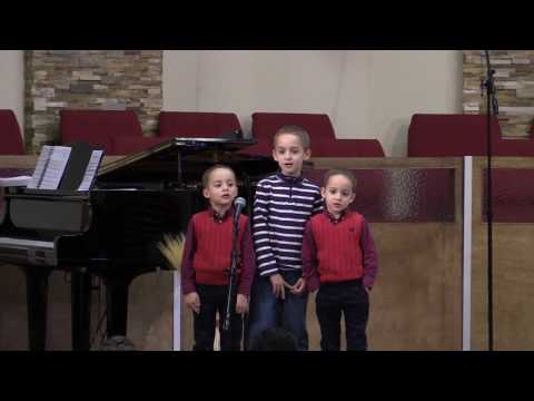 Jesus Loves the Little Ones Like Me - Faria Children
