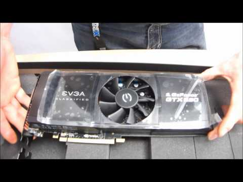 EVGA GeForce GTX 590 Classified Unboxing & First Look Linus Tech Tips