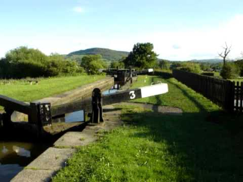 Macclesfield Canal locks North Rode
