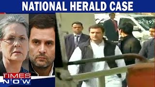 National Herald case: Government eviction notice stays, No relief for Gandhis yet - TIMESNOWONLINE