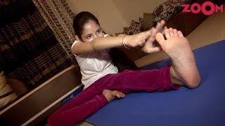 Harshali Malhotra Celebrates International Yoga Day - ZOOMDEKHO