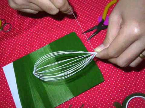 How to make stocking flower (lily) by