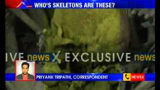 NewsX Exclusive: #100Skeletons of Unnao spark mystery - NEWSXLIVE