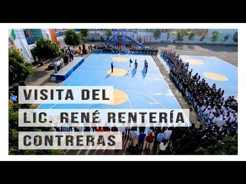 Visita del Lic. René Rentería Contreras