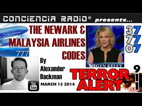 UNCENSORED TERROR ALERT: NEWARK -- MALAYSIA AIRLINES CODE EXPLAINED - MARCH 16 2014 -