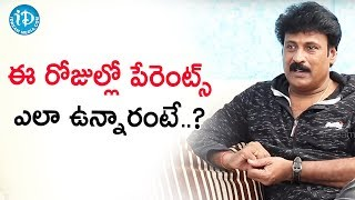 DO NOT Put Pressure on KIDS - Jakie | Talking Movies With iDream | Anitha - IDREAMMOVIES