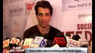Sonu Sood and Dipannita Sharma at an event | Bollywood News