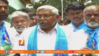 Prof Kodandaram Protest And Demands For Land Records Cleansing In Telangana | iNews - INEWS