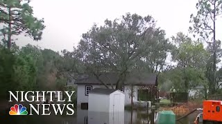 North Carolina Man Fights Against Florence To Save His Neighborhood | NBC Nightly News - NBCNEWS
