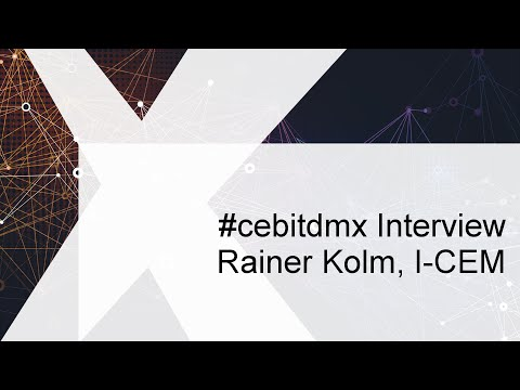 #cebitdmx Interview mit Rainer Kolm, Institut Customer Experience Management