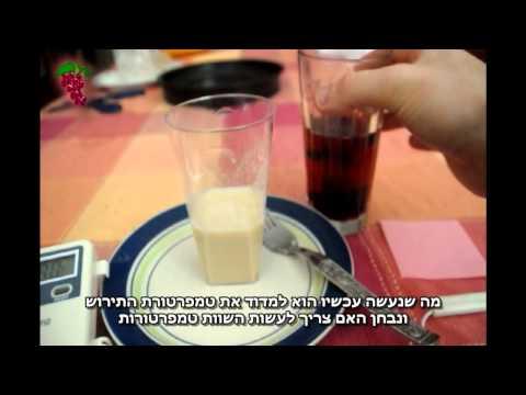 WineMaking.co.il | וידאו | הכנת סטארטר- שמרים יבשים לתסיסה