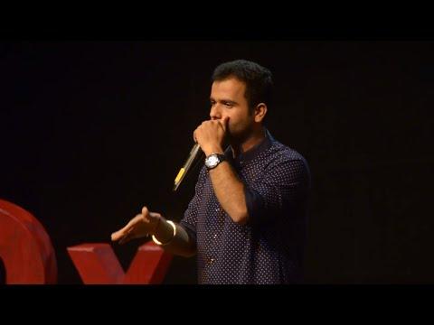 Art, Chaos and Beatbox | Indian Beatboxer | Divyansh Gupta | TEDxJSSATE