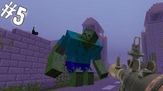 ВЫЖИТЬ В ЗОМБИ АПОКАЛИПСИСЕ [Minecraft] #5 - ГИГАНТСКИЙ ЗОМБИ