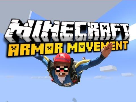 Minecraft Armor Movement Mod - GLIDERS, JET PACKS, & MORE! (HD)