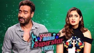 'Baadshaho' Cast Ajay, Ileana, Esha & Emraan Talk About Their Tattoos | Yaar Mera Superstar Season 2