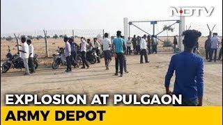 6 Dead, Many Injured In Explosion Near Ordnance Depot In Maharashtra - NDTV