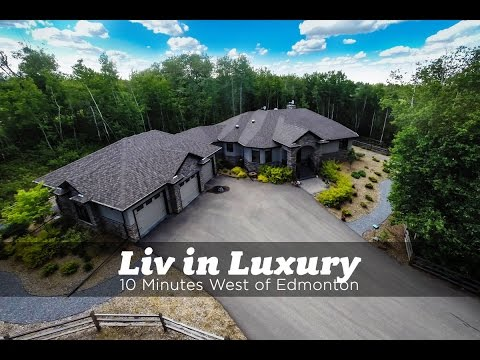 Luxury Acreage West of Edmonton for Sale