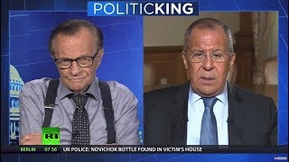 What is an ideal outcome of Putin-Trump meeting? Russian FM tells Larry King (EXCLUSIVE) - RUSSIATODAY