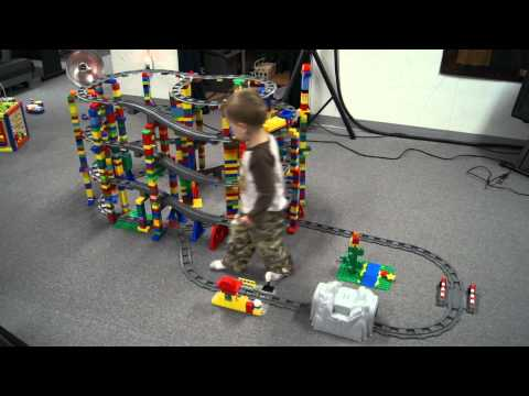 Ultimate Lego Duplo 5 Story Train Track