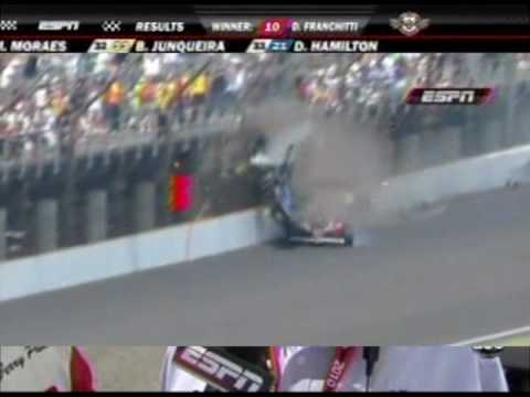Franchitti Wins Indy 500~Horrific Airborne Crash 5.30.10
