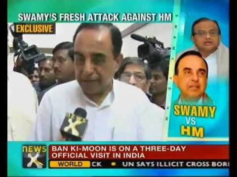 Chidambaram's son is direct beneficiary of 2G scam says Subramanian Swamy - NewsX