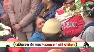 Mortal remains of jawan Ajit Kumar reach his house in Unnao, Uttar Pradesh - ZEENEWS