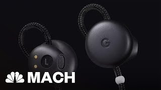 Google's Pixel Buds Let You Translate Up To 40 Languages In Real Time | Mach | NBC News - NBCNEWS