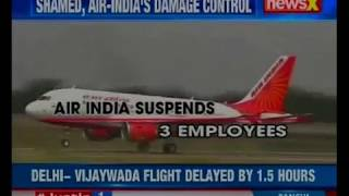 Minister faces angry passengers; warning letter issued to Air India airlines - NEWSXLIVE