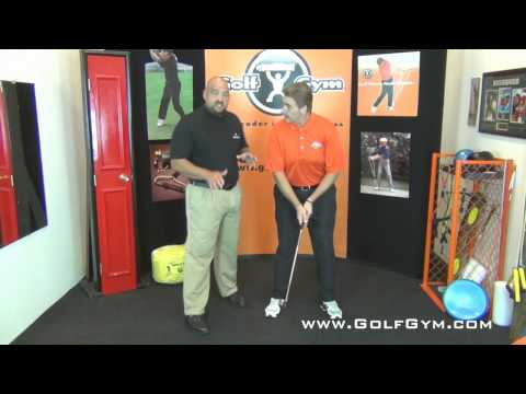 Golf Swing Tip - How To STOP Hitting Behind The Ball