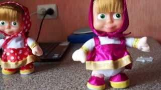 Маша повторяшка - интерактивная игрушка из мультфильма.