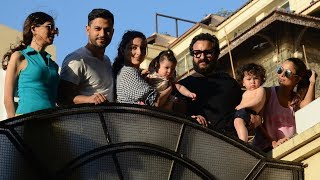 Cousins Taimur Ali Khan and Inaaya Naumi Kemmu enjoy a sunny day with the Pataudis - TIMESOFINDIACHANNEL