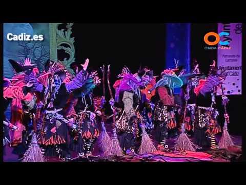 Sesión de Cuartos de final, la agrupación ¡Cadizcadabra! Las brujas actúa hoy en la modalidad de Comparsas.