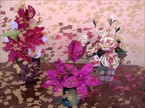 Arranjos de flor em eva. Gaby flor de eva
