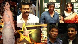 Celebs @ Sakshi Excellence Awards | Ram Charan | Sukumar | Adivi Sesh | Anasuya | Pooja Hegde - IGTELUGU