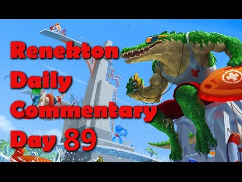 Renekton Daily Commentary - Day 89 - Renekton Vs Lee Singa